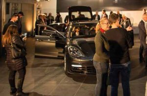 Partytime bei Porsche