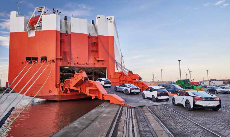 Verschiffung BMW i3