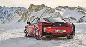 BMW i8, Winter